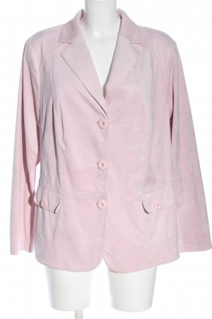 Frank Walder Korte blazer roze casual uitstraling