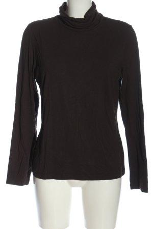 Frank Walder Turtleneck Shirt brown casual look