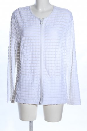 Frank Walder Shirt Jacket white striped pattern casual look