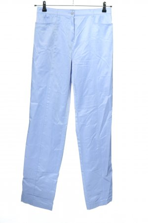 Frank Walder Jersey Pants blue casual look