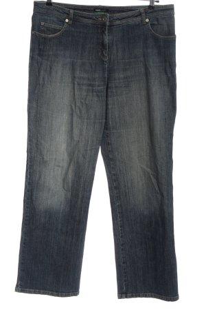 Frank Walder Jeans a gamba dritta nero stile casual