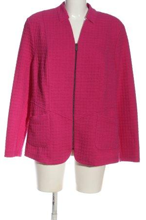Frank Walder Knitted Blazer pink allover print business style