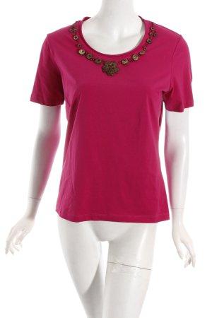 Frank Walder T-Shirt pink Casual-Look
