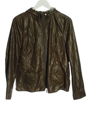 Frank Walder Between-Seasons Jacket brown quilting pattern casual look