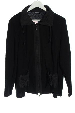 Frank Walder Wool Jacket black casual look