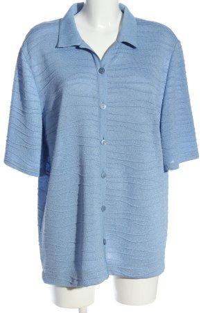 Frankenwälder Hemd-Bluse blau Casual-Look