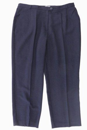 FRANKENWÄLDER Hose Größe 48 blau aus Polyester