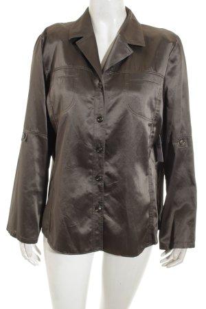 Frankenwälder Langarm-Bluse khaki extravaganter Stil