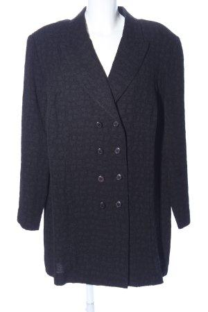 Frankenwälder Long Blazer black allover print casual look