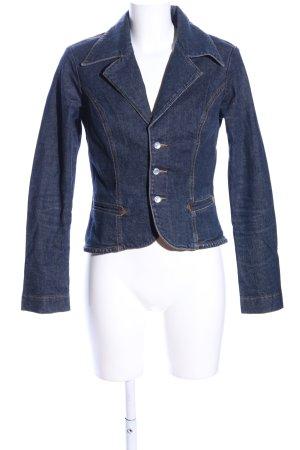 Frankie B Blazer in jeans blu stile casual
