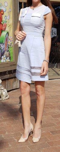 frankie Morello Organza kleid wrap dress