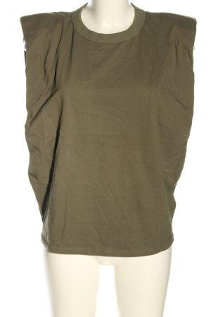Frankie SHOP Basic Top bronzefarben Casual-Look