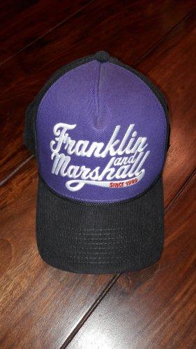 Franklin & marshall Baseball Cap black-dark violet