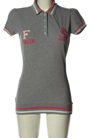 Franklin & marshall Polo Shirt flecked casual look