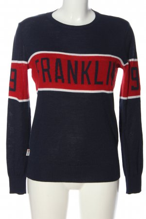 Franklin & marshall Crewneck Sweater printed lettering casual look