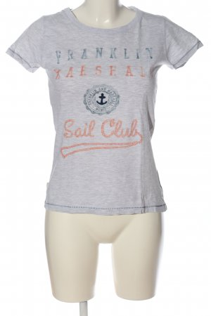 Franklin & marshall T-Shirt flecked casual look