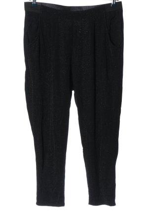 Fransa Pantalon «Baggy» noir style décontracté