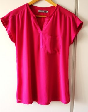 Fransa Bluse Shirt pink magenta Gr. S (36) Clean Chic