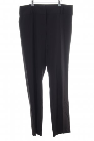Fransa Bundfaltenhose schwarz Business-Look