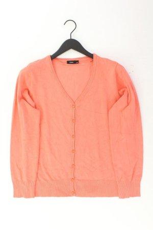 Fransa Cardigan Größe L orange aus Viskose