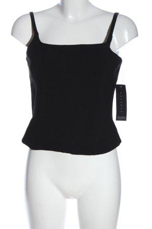 Fransa Haut type corsage noir style décontracté