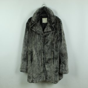 Fransa Cappotto in eco pelliccia grigio-grigio chiaro Poliestere
