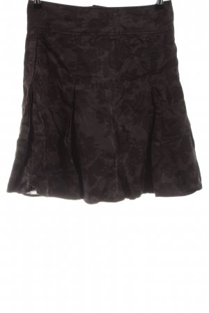 Fransa Faltenrock schwarz-bronzefarben Allover-Druck Casual-Look