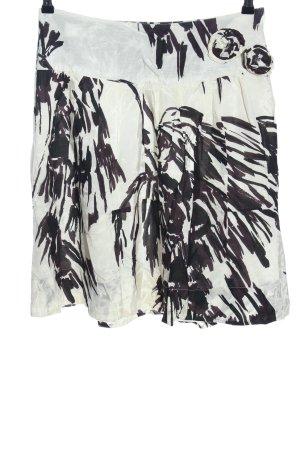 Fransa Glockenrock abstraktes Muster Casual-Look