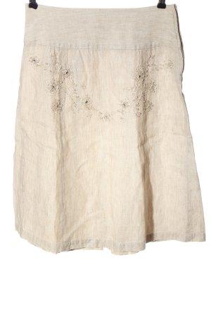 Fransa Jupe taille haute blanc cassé style décontracté