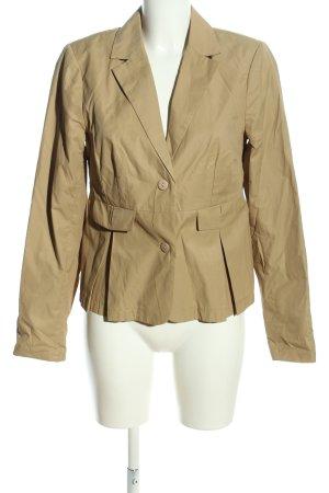 Fransa Blazer en jersey brun style décontracté