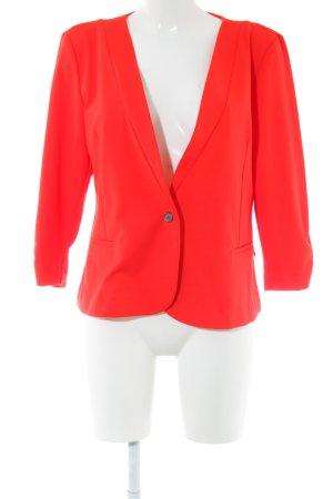Fransa Jersey blazer rood zakelijke stijl