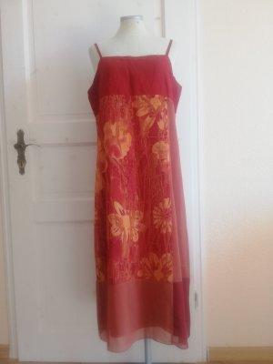 Fransa Kleid Midikleid Sommerkleid Gr. L 40 L Trägerkleid