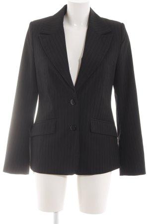 Fransa Blazer court noir motif rayé style d'affaires