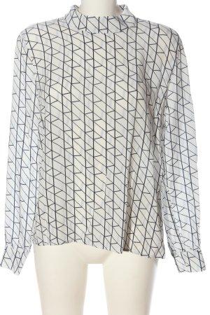 Fransa Camicetta a maniche lunghe bianco-blu stile casual