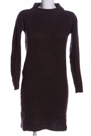 Fransa Sweater Dress brown casual look