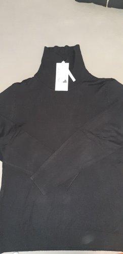 Fransa Jersey de cuello alto negro
