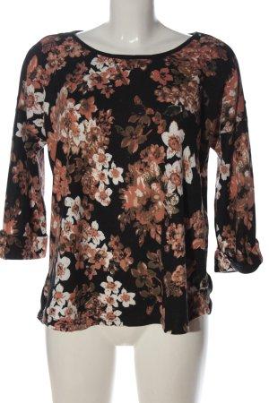 Fransa Jersey de cuello redondo estampado floral look casual