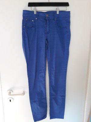 Fransa Pantalón tipo suéter azul acero