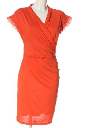Fransa Robe d'été orange clair élégant