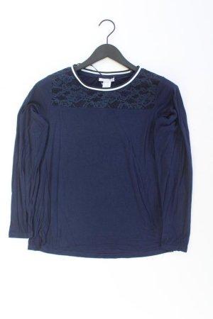 Fransa Blusa in merletto blu-blu neon-blu scuro-azzurro Poliammide