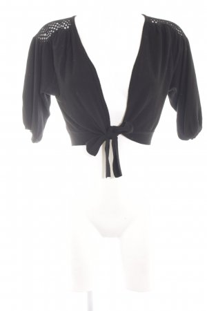 Fransa Strickbolero schwarz Elegant
