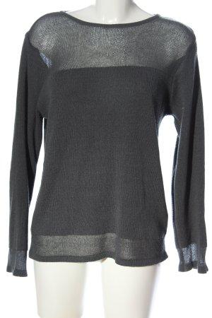 Fransa Pull tricoté gris clair style décontracté