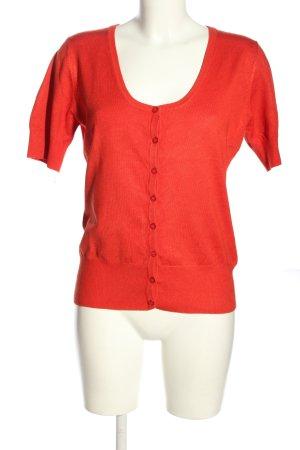 Fransa Haut tricotés rouge style décontracté
