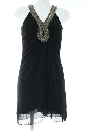 Fransa Volantkleid schwarz Elegant