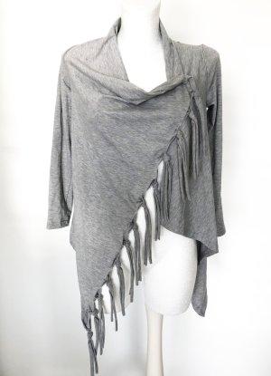 Chaqueta estilo camisa color plata Algodón