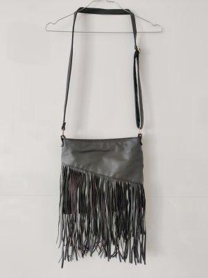 H&M Sac à franges noir