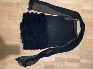 hanita Fringed Dress black
