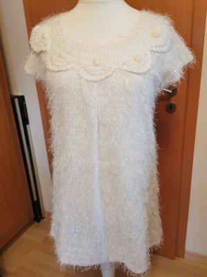 Yumi Sukienka mini biały-w kolorze białej wełny