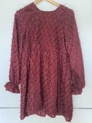 Reserved Fringed Dress multicolored