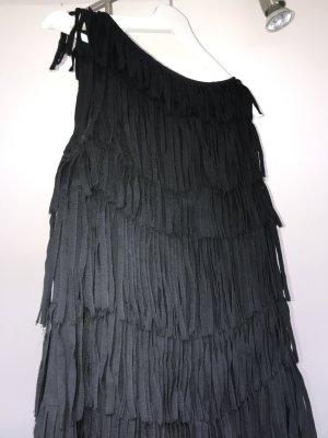 Strenesse Sukienka z frędzlami czarny